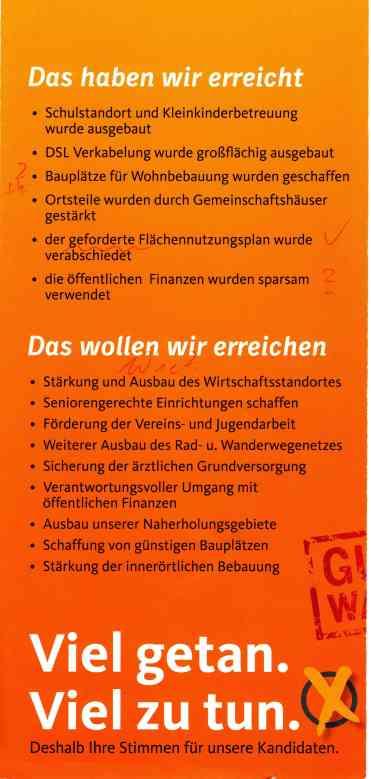 CDU Wahlprogramm 2014